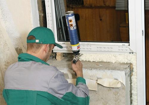 Металлопластиковые окна установка