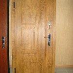 Металлическую дверь