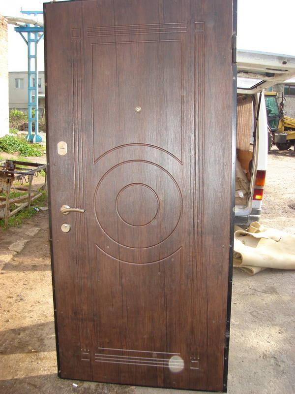 обычные металлические двери цены